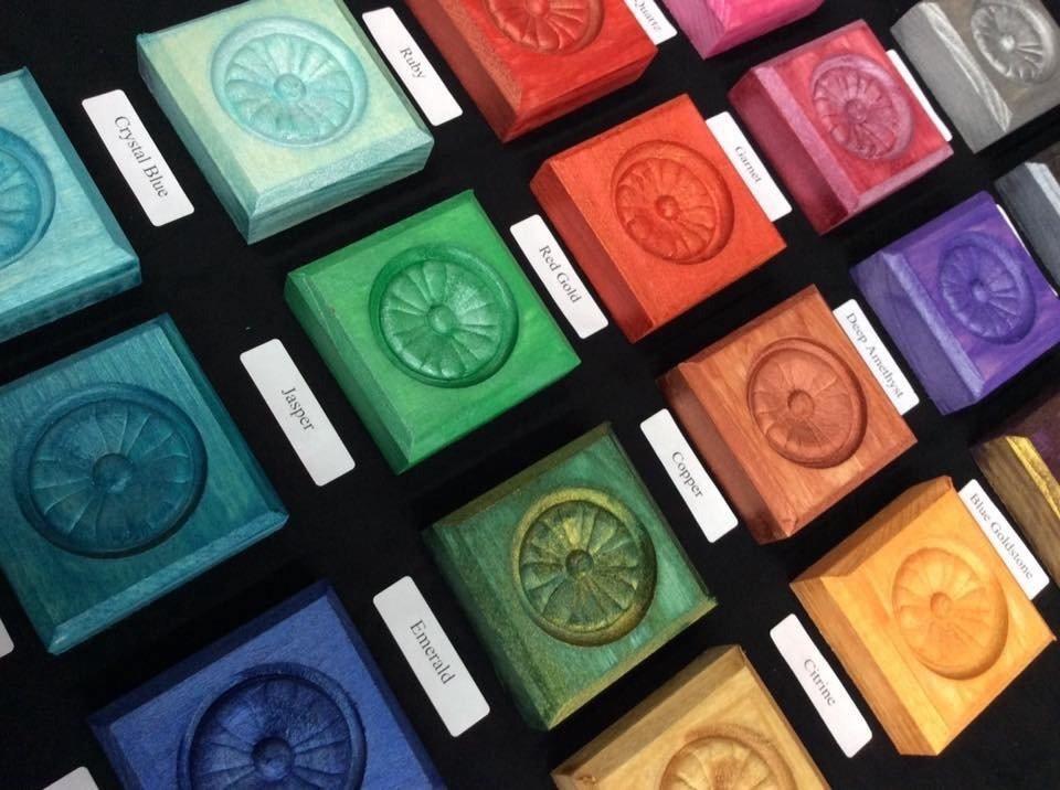 Metallic Glaze Precious Gem Series - All colors Diagnoal